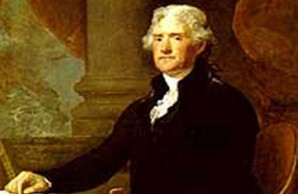 Thomas Jefferson, c.1821