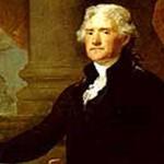 Thomas Jefferson, c.1821